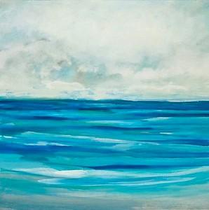 Ocean Air I-Hibberd, 40x40 on canvas