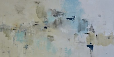 "Easy Does It-Ridgers, 60""x30"" acrylic painting onc anvas (17)"