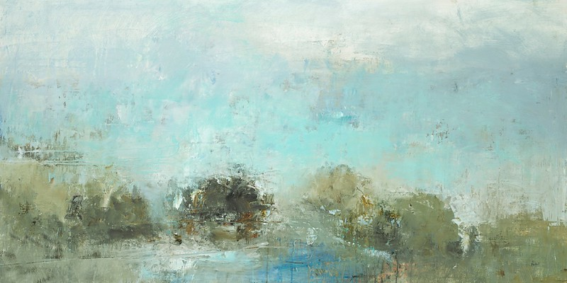 """Subtle Views IV-Ridgers, 30""""x60"""" on canvas"""