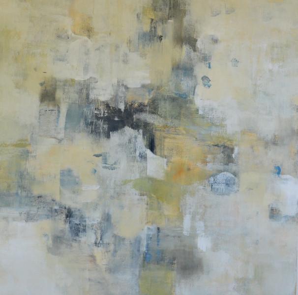 Texture & Flow-Ridgers, 40x40 on canvas (16-1-06) JPG