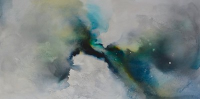 """Current-Carney, 24""""x48"""" on canvas"""