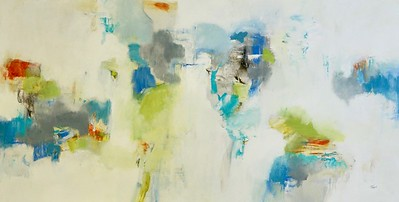"""Conductor-Ridgers, 60""""x30"""" acrylic painting on canvas"""