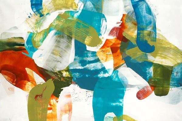"Spirit Rhythm I-Alridge, 40""x60"" canvas"