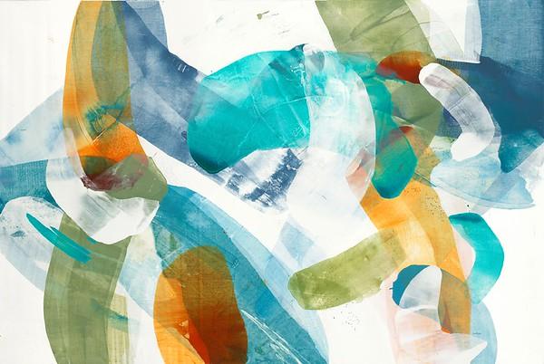 Spirit Flow II-Alridge, 40x60 on canvas