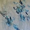 Blu Wall-Hibberd, 40x40 painting on canvas JPG