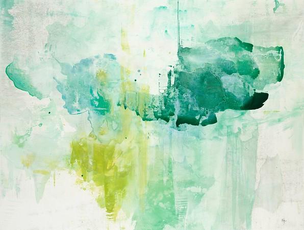 "Shadows IV-Ridgers, 38""X50"" on canvas"