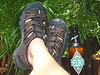 life is good as i wear my EZ shoes and take in the local belizian beer...wonderfully, it has a quality of depth similar to my favorite SHINER from my home state...