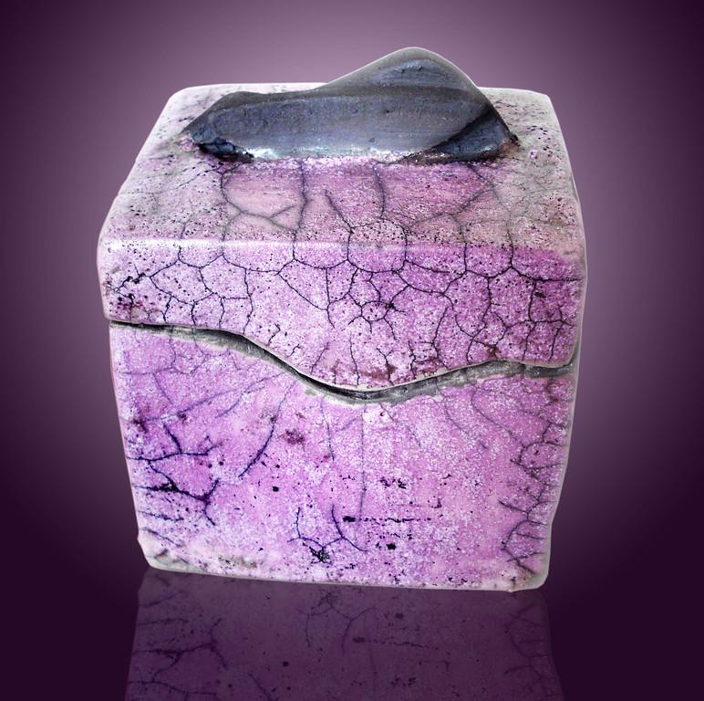 Purple Sharkfin Box