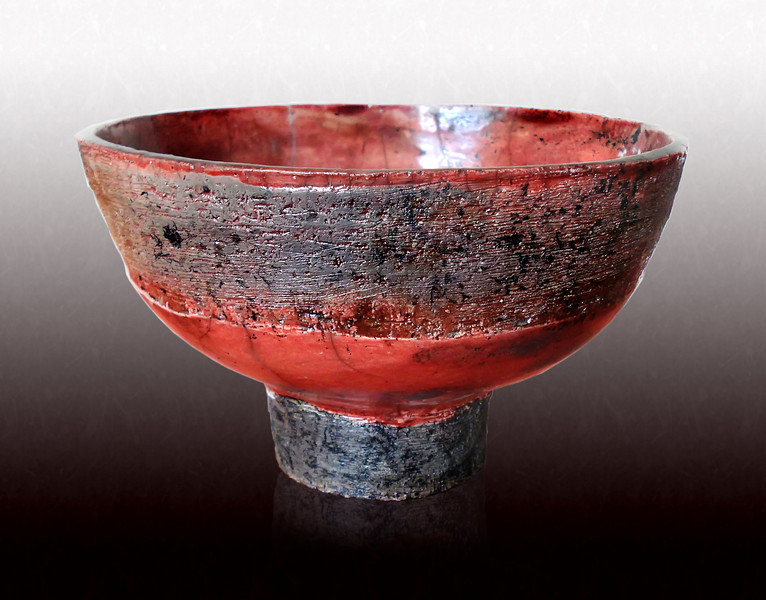 Red Rough Bowl