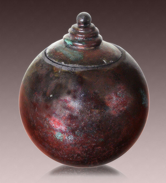 Copper Ball Pot