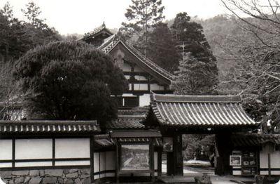 Nagoya  Rinzai Zen Temple<br /> Bessa R2   Trix 400