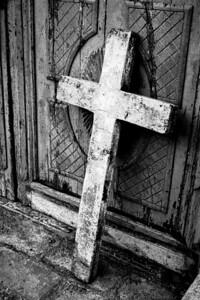 Ecuador cross ink BW