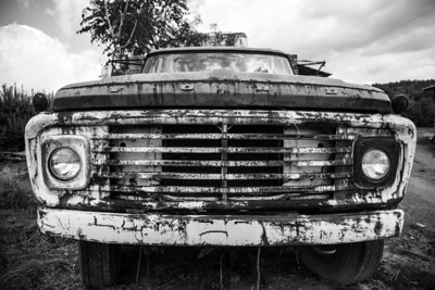 Ford Truck_BW