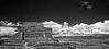 BW Pecos Pueblo Church +Sky_Panorama02 x2 Enh-crp aa+