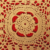 Hand-crocheted Lace Background