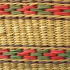 Hand-woven Ecuadorian basket