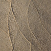 Tidal Patterns on Sand, Vertical