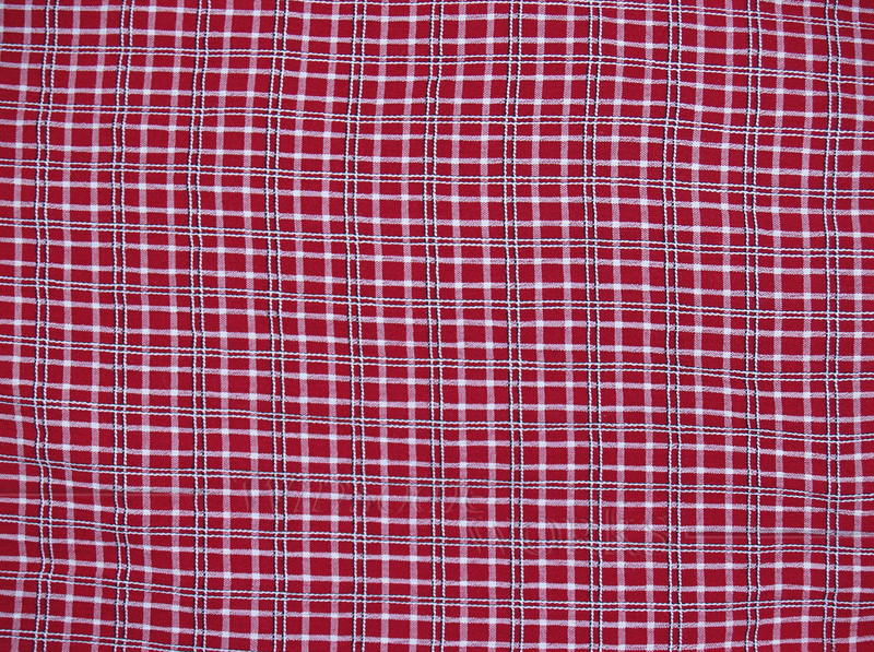 Plaid Skirt Fabric Background