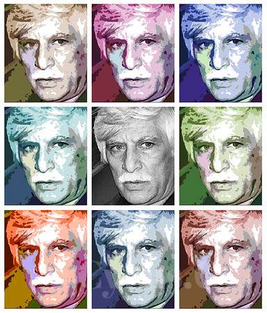 Warhol style from a old photo.