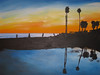 Sunset at Hendry's Beach-SOLD