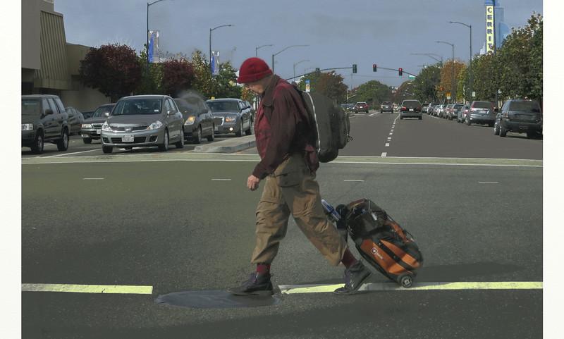 Pedestrian, San Pablo Ave