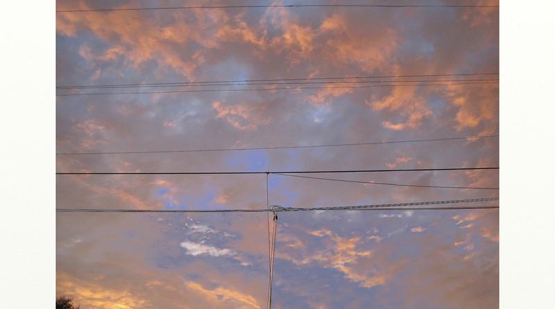 sky, late summer