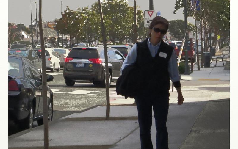 pedestrian, San Pablo Ave, El Cerrito