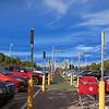 retailer parking lot, Berkeley