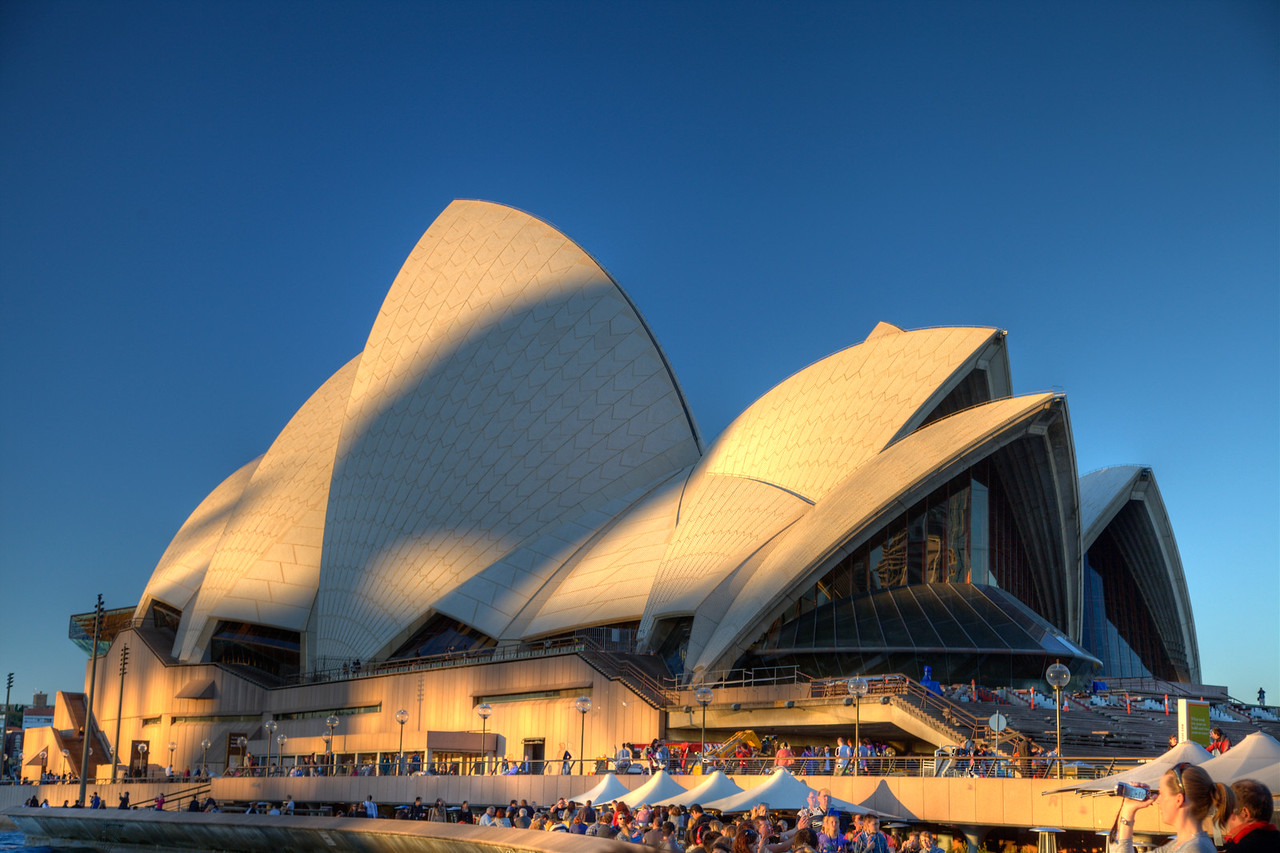 The Sydney Opera House (HDR)