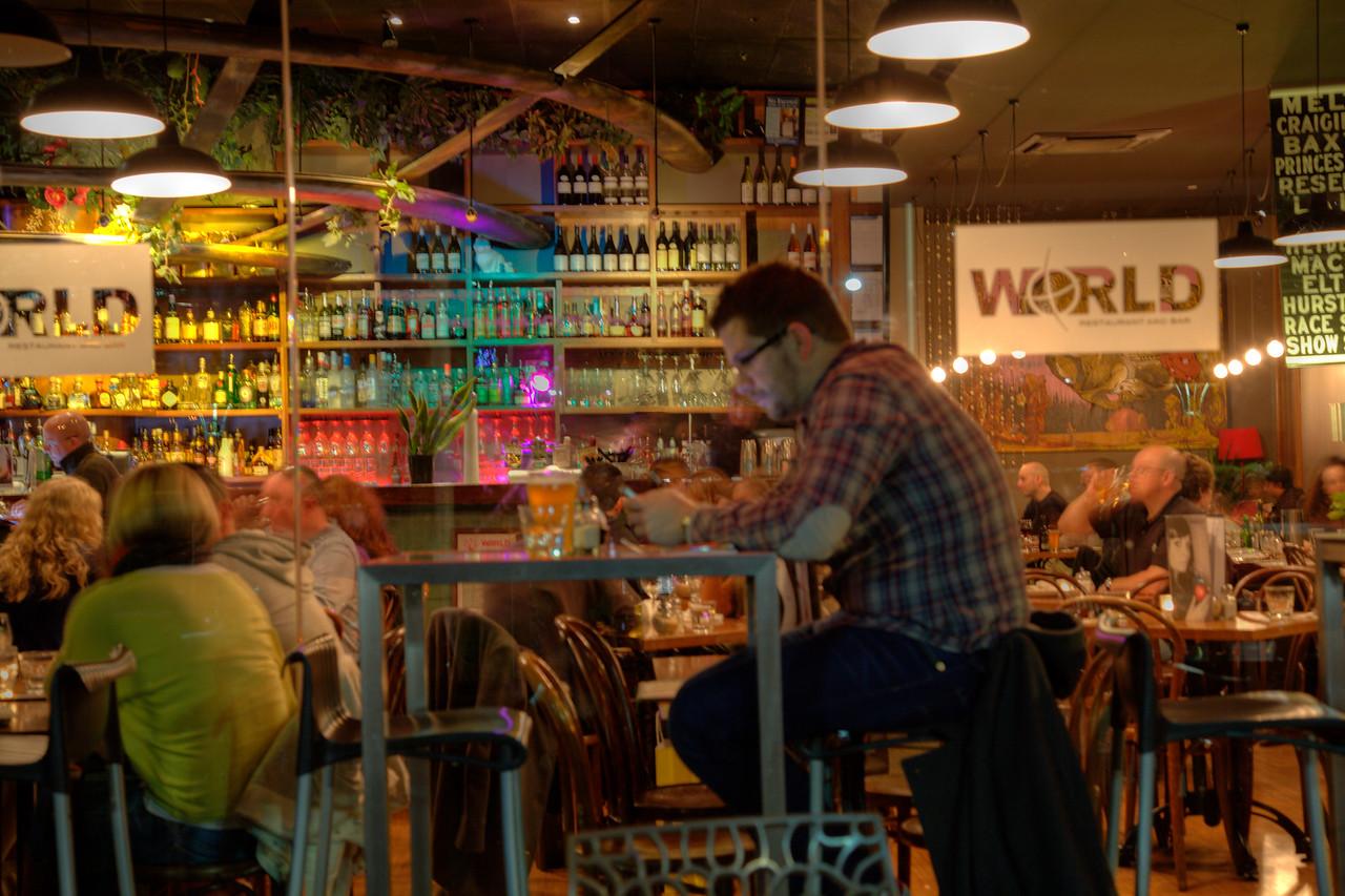 Cafe culture in Mlebourne, Australia (HDR)