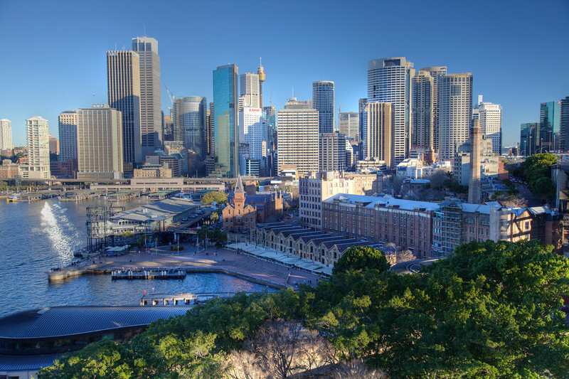 The CBD of Sydney, Australia (HDR)