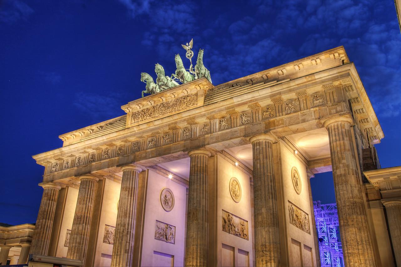 The Brandenburg Gate (HDR)