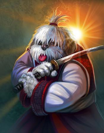 """""""Samurai Sheepdog"""""""