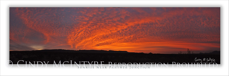 Sunrise Near PJ 4x12