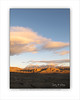 Chisos Maverick Badlands Sunset Clouds V 8x10 copy