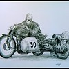 1-Ercole Frigerio & Ezio Ricotti  Gilera 1949, 14x17, graphite pencil, may 15, 2017 DSCN00051