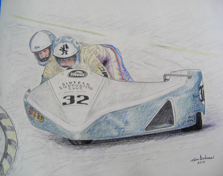 Franco Matinelli & Kevin Morgan, IoM, 1987, 14x17, graphite & color pencil, completed mar 6, 2015 CIMG9603