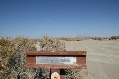 Nobles Trail Hot Springs marker