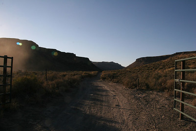 High Rock Canyon entrance