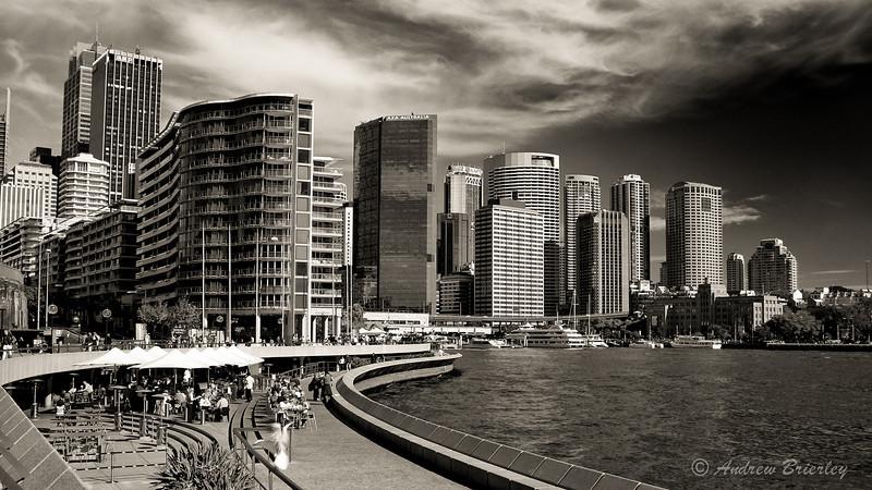 Sydney Skyline from the Opera House
