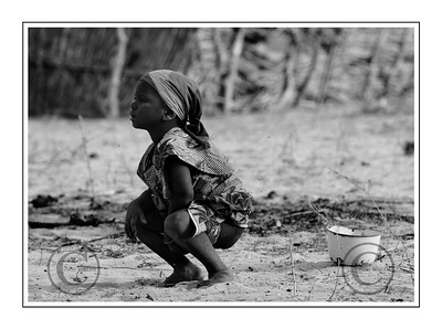 Maradi NIGER le 30/01/2007  OpŽration UNICEF Volvic au Niger  © Didier Baverel