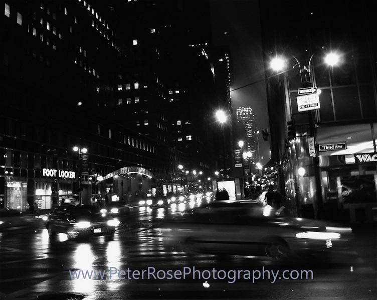 42nd Street<br /> Nik Silver Efex Pro Filter
