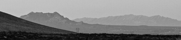 The Dona Ana Mountains; Las Cruces, New Mexico