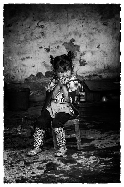 Young girl in Yunnan, China