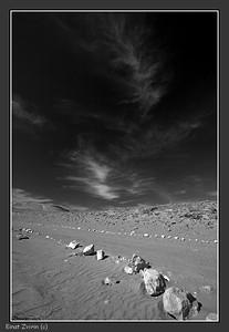 Desert Road Kesuy Dunes, southern Israel