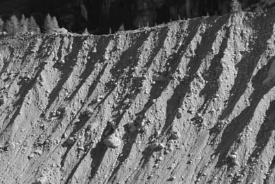 Motreratsch glacier morraine