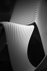 curves of a chair