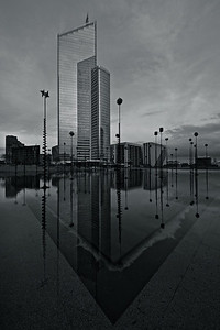 Tour First - B&W Version 1 - La Défense Paris