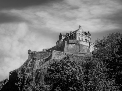 Edinburgh Castle, in Scotland. This is the city where J.K. Rowling wrote the Harry Potter series. Can you guess where she got the inspiration for Hogwarts?