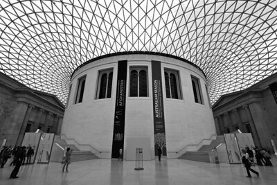 British Museum - Queen Elisabeth II Court